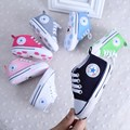 2017 New Baby Shoes  Fashion Canvas Baby Girls Shoes Toddler Infants Shoes 11cm 12cm 13cm Baby Boys Shoes First Walkers L1733