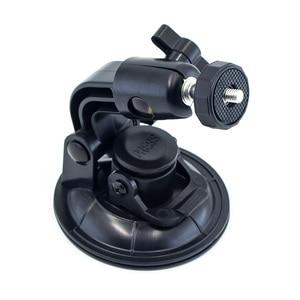 Image 4 - 9CM Car Suction Cup For GoPro Hero 7 6 5 4 3 Accessories Tripod Adapter Holder Sucker Xiaomi Yi SJCAM SJ4000 Action Sport Camera