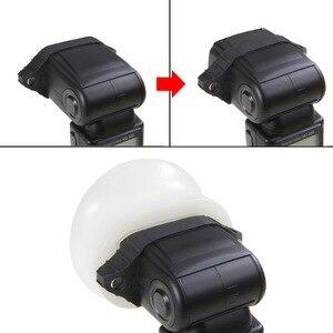 Image 2 - 新しいselens磁気シリコン光ディフューザーゴム球モジュラーフラッシュアクセサリーキヤノンニコン永諾オンカメラスピードライト