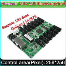 MRV336 מציג LED קבלת כרטיס תמיכת 1/32 סריקה, חיצוני צבע מלא מקורה P2.5 P10 בקר תצוגת וידאו LED