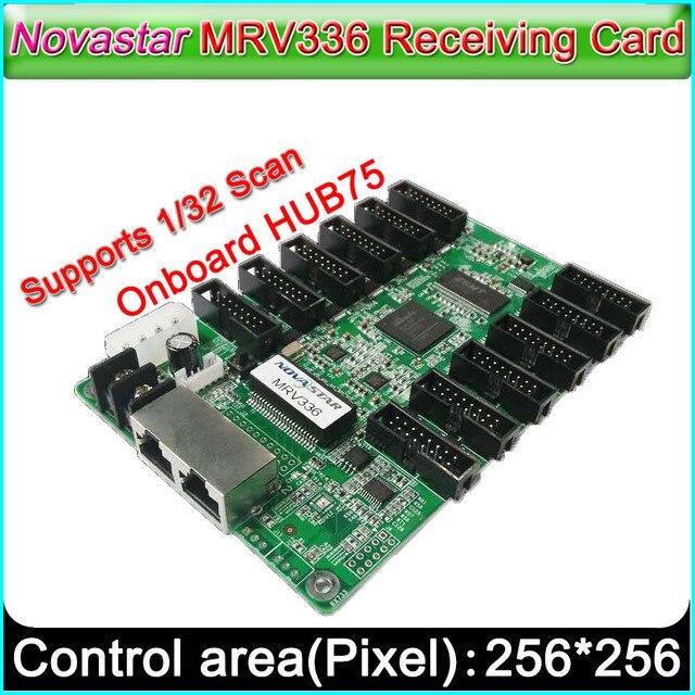 MRV336 LED affiche la prise en charge de la carte 1/32 Scan, contrôleur daffichage vidéo LED polychrome dintérieur extérieur P2.5 P10