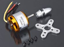 A2212 KV1400 Kv1000 KV2200 RC Brushless motor rc spare parts Firepower for airplane helicopter