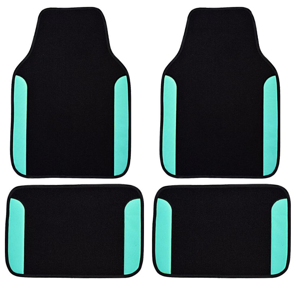 Floor mats super cheap - Car Pass Car Floor Mats Universal Fit Driver Passenger Seat Ridged Heavy Duty Leather