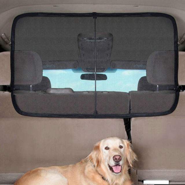 Car Pet Barrier >> 62358 SUV Car Dog Guard Pet Barrier Blocks Dogs Access To Car Front Seats & Keep Dogs In Back ...