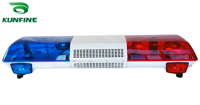 High Quality Halogen Police Light Bar Traffic Light With Controller Traffic  Warning Light Bar KF5117