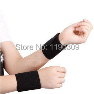 Tourmaline magnetic therapy self-heating wrist support health care