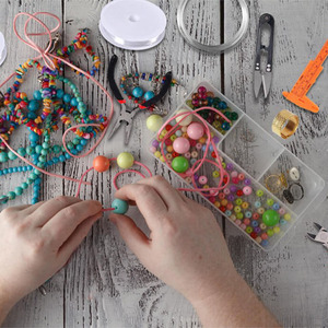 Image 2 - Jewelry Making Supplies Kit With Tools Wires And Jewelry Findings For Jewelry Repair And Beading