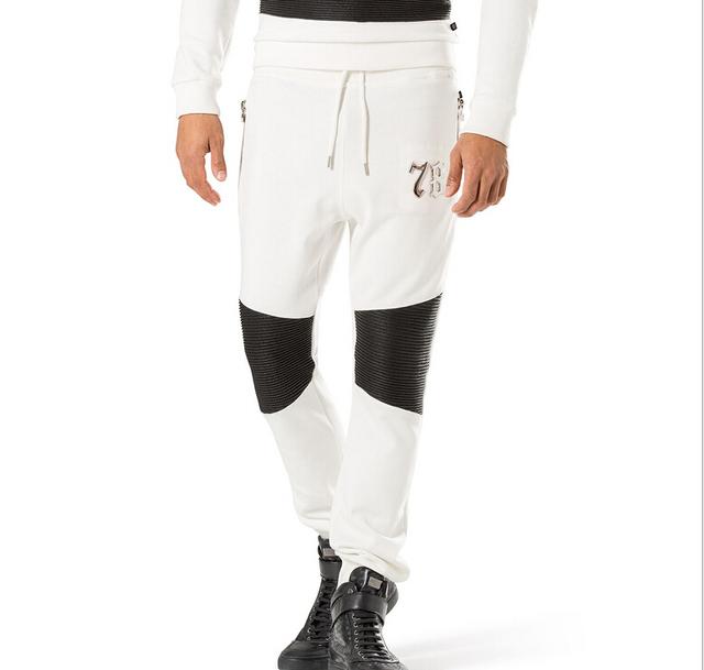 Nueva Llegada bragas de Los Hombres de Moda Casual Hombres pantalones Masculinos de algodón TH5210