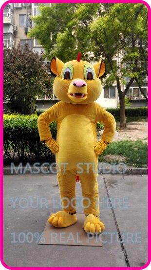 Mascotte lion mascotte costume personnalisé fantaisie costume anime cosplay kits mascotte thème de bande dessinée fantaisie robe
