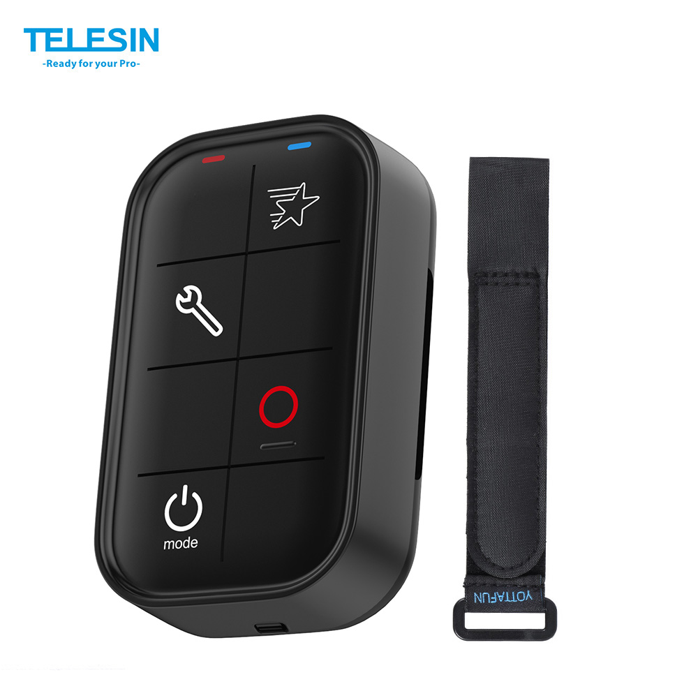 TELESIN Smart Wireless Wi Fi Remote Control Water resistant for GoPro Hero 4 3 3 4
