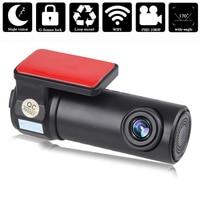 WIFI Car DVR Dashboard Camera Video Recorder Full HD 1080P 170 Degree Wide Angle Monitor Night Vision