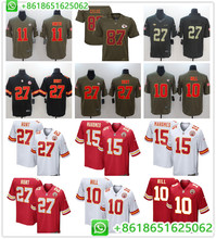 2019 Kansas City Mens Patrick Mahomes II Tyreek Hill Travis Kelce Eric  Berry Kareem Hunt football jerseys bf8728597