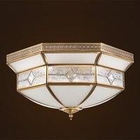 AC90 260V Copper Ceiling lamp E27 Lamp For European Ceiling lighting the goods for kitchen