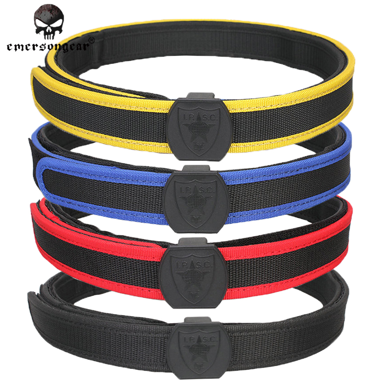 Tactical IPSC SPECIAL SHOOTING BELT BLACK Waist Belt S-XL Red Yellow Black Blue Wholesale