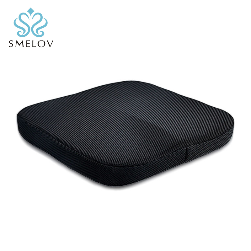 Comfort Office Chair Car Seat Cushion Non-Slip Orthopedic Memory Foam Coccyx Cushion For Tailbone Sciatica Back Pain Relief