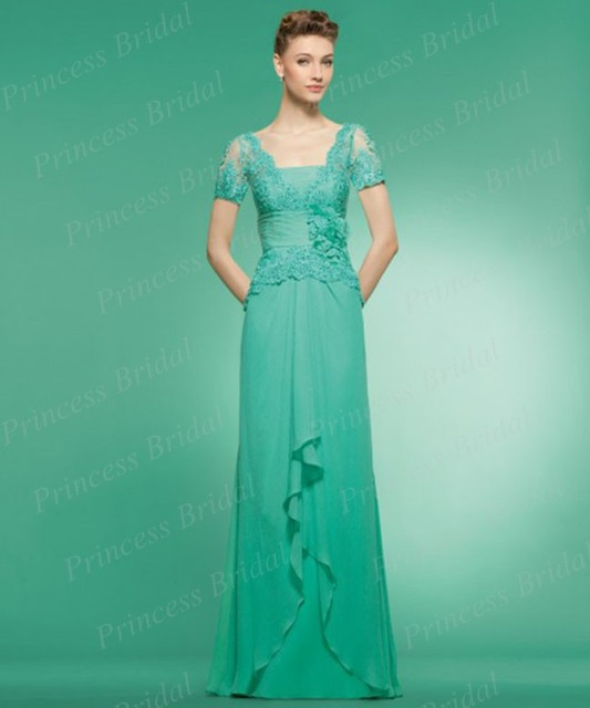 Free Shipping Indian Style Sheath Top Lace Floor Length Chiffon ...