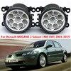 For Renault MEGANE 2 Saloon LM0 LM1 2003-2015 Car styling front bumper LED fog Lights high brightness fog lamps 1set