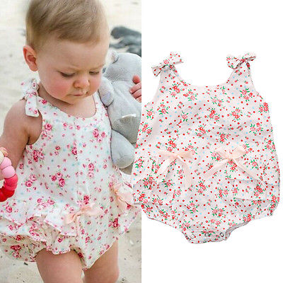 Aliexpress.com: Compre Baby Girl Rompers Summer Girls ...