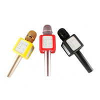 Q9S+ Bluetooth Handheld Microphone Wireless Microphone With Loudspeaker Voice Change Mic For Stage Performance KTV Karaoke