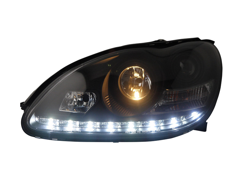 Vland factory for car head lamp for W220 headlight for S280 S320 S500 S600 S350 HID headlight plug and play for 2011-2014