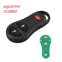 3 BNT Keyless Remote Key Fob Clicker Transmitte For Jeep Grand Cherokee 56036859