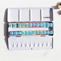 شحن مجاني جديد المنتج لوكاس 24 soid اللون كبار المائية الحديد مربع دعوى