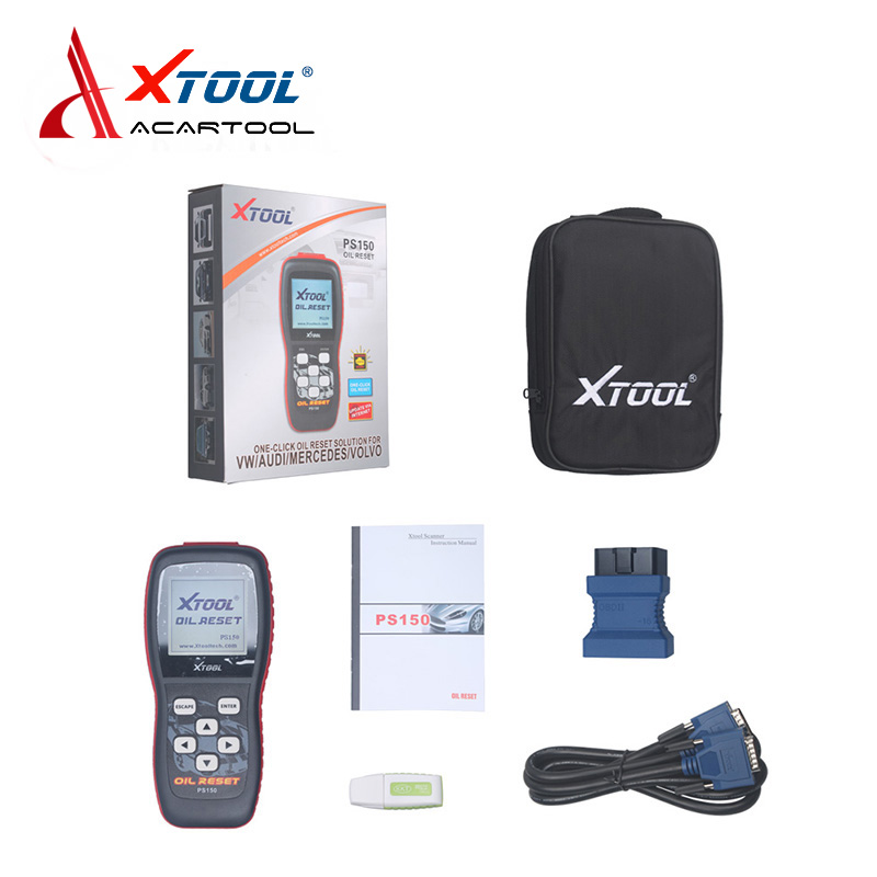 100% Original XTOOL PS150 Oil Reset Tool+ OBDII Scanner  ps150 xtool ps150 Oil Reset Tool Free Update Online XTOOL PS150 vitek vt 2317 bk выпрямитель для волос