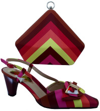 Hot Sale Italian Matching Shoe And Bag Set On Sale Factory Price African font b Woman