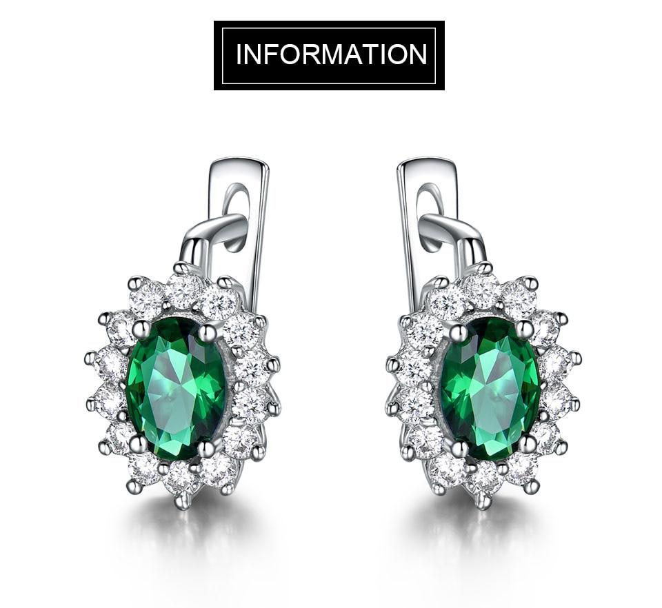 UMCHO-Emerald-925-sterling-silver-clip-earrings-for-women-EUJ074E-1-PC_01