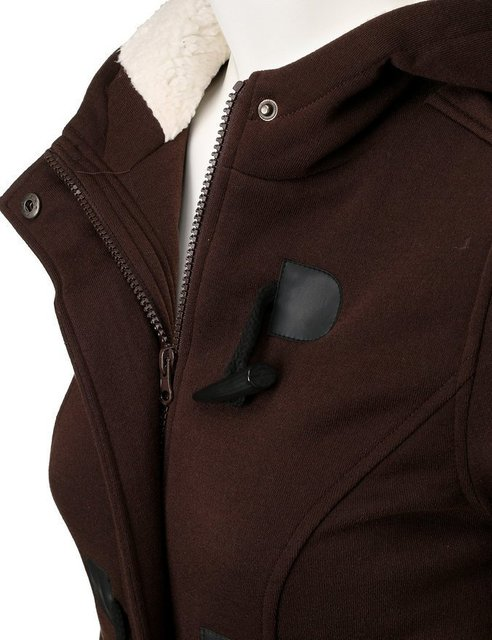 LOSSKY Long Sleeve Velvet Winter Jacket Women Fall 2018 Hooded Buttons Plus Size 5xl Warm Coat Woman Casual Parkas Veste Femme 4