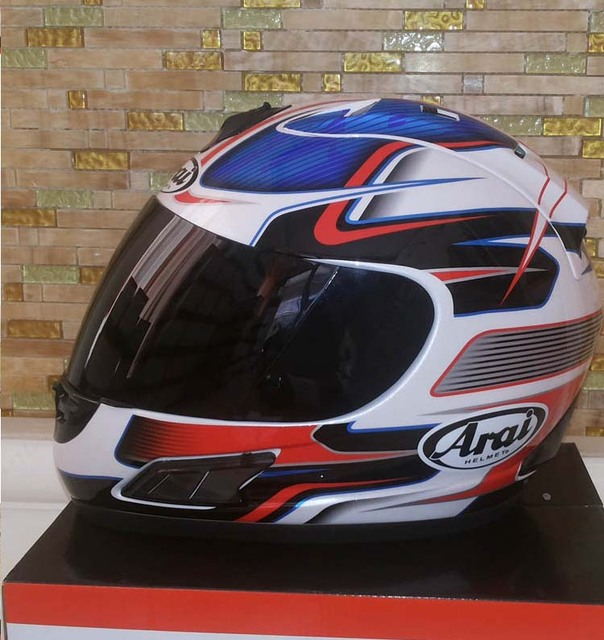 Hot Sales Brand Arai Dot Black Rossi Elements Racing Stripes