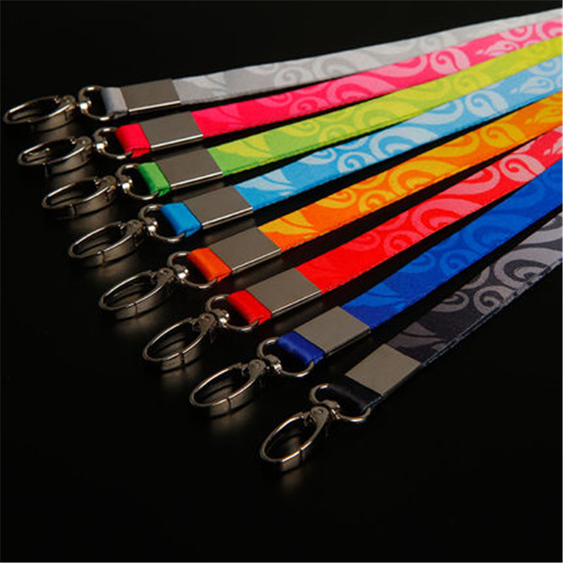 Wholesale 5pcs High Quality Fashion Color Pattern Detachable Necklace Strap Lanyards Rope ID Metro Card Badge Bag Holder