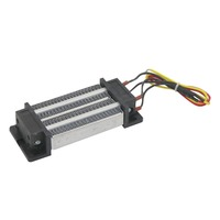1 Pcs Durable AC DC 220V 200W Electric Ceramic Thermostatic PTC Heating Element Heater Insulated Air