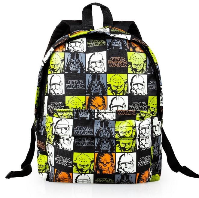 new arrival childrens Star Wars cartoon backpack kindergarten school bags little kids satchel baby boy schoolbag