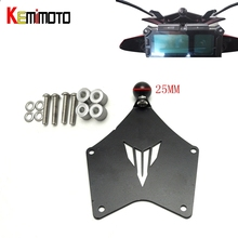 For Yamaha MT-09 Tracer Motorcycle GPS Phone Holder Mount Mounting Bracket MT09 Tracer accessories 2015 2016 FJ-09 FJ09 2017