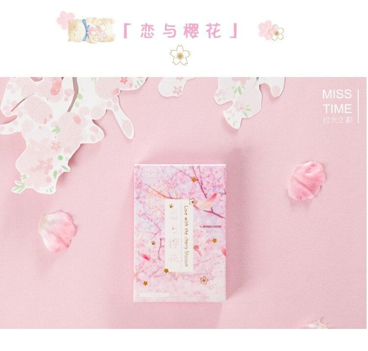 28 Sheets/Set Novelty Sakura And Love LOMO Card Mini Paper Postcard Message Card Gift Greeting Card