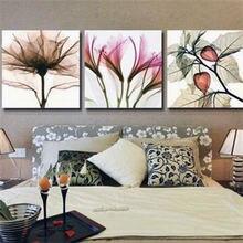 Триптих «сделай сам» алмазная вышивка с цветами 5d живопись