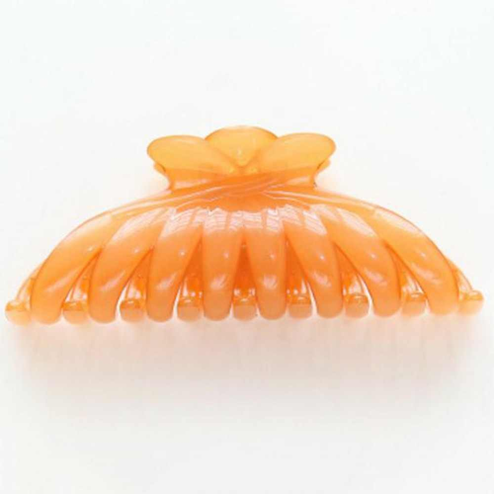 ลูกอมสีอะคริลิคขนาดใหญ่ Claws ผมสำหรับสุภาพสตรี Make Up ผม Crab Clamp คลิปเครื่องประดับอุปกรณ์เสริม