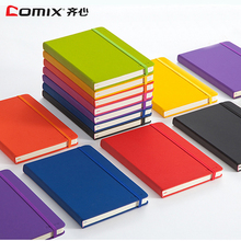 122sheets Notebook thickened A5 soft leather Notepad color clear portable diary
