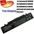 Bateria do portátil para samsung aa-pb9nc6b aa-pb9nc6w aa-pb9ns6b aa-pb9ns6w aa-aa-pl9nc6b q320 r468 r428 r429 r420 r580 r522