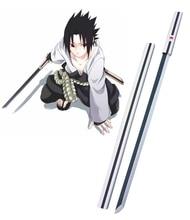 Free Shipping Naruto Uchiha Sasu ke White Kusanagi Cosplay Wooden Weapons