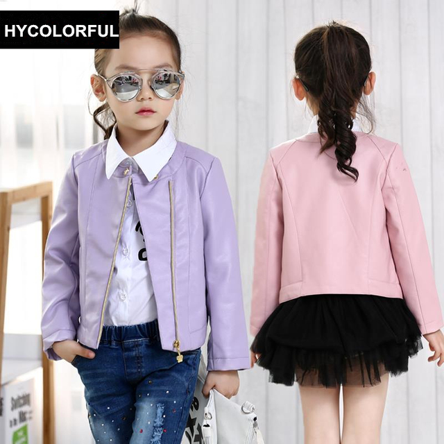 b87ff76d4 2019 New Spring Girls Coats and Jackets Kids Clothes Children ...