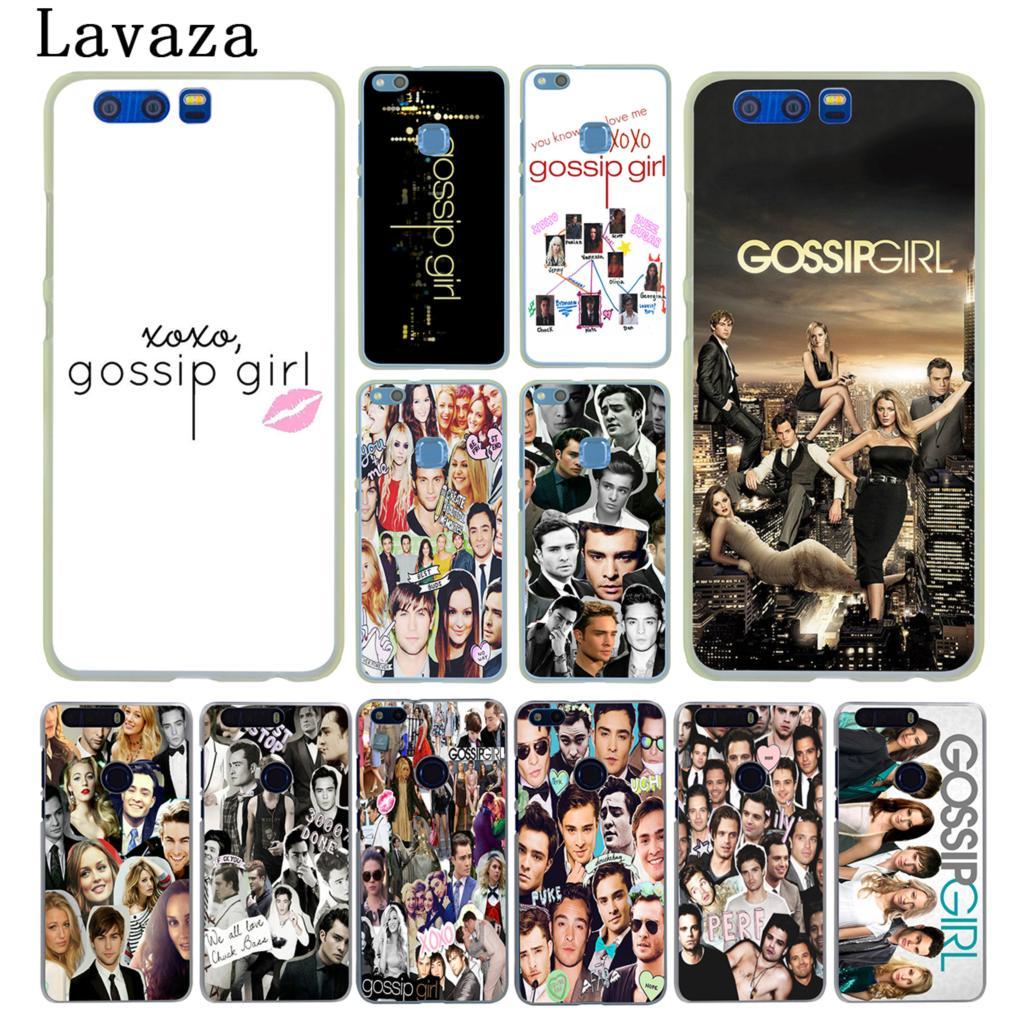 Lavaza beautiful Gossip Girl Hard Case for Huawei Y6 Y5 Y3 II Y7 2017 Nova 2 Plus 2S 2i  ...