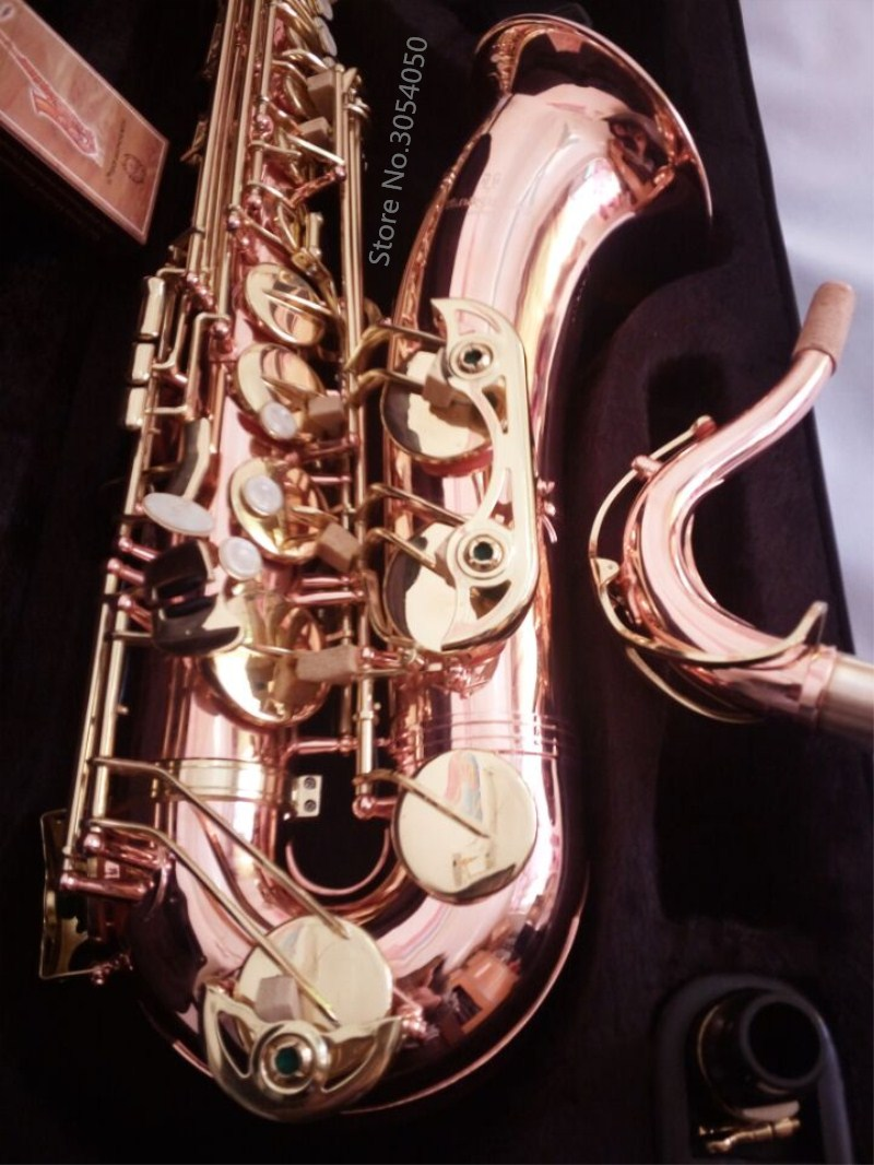 Japan Yanagisawa T901 musical instruments B flat Tenor saxophone Phosphor Bronze Copper Tenor Sax music Professional instrument tenor saxophone free shipping selmer instrument saxophone wire drawing bronze copper 54 professional b mouthpiece sax saxophone