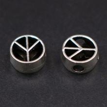 Wkoud 30 шт серебряного цвета 2 мм Φ ретро diy ювелирные изделия