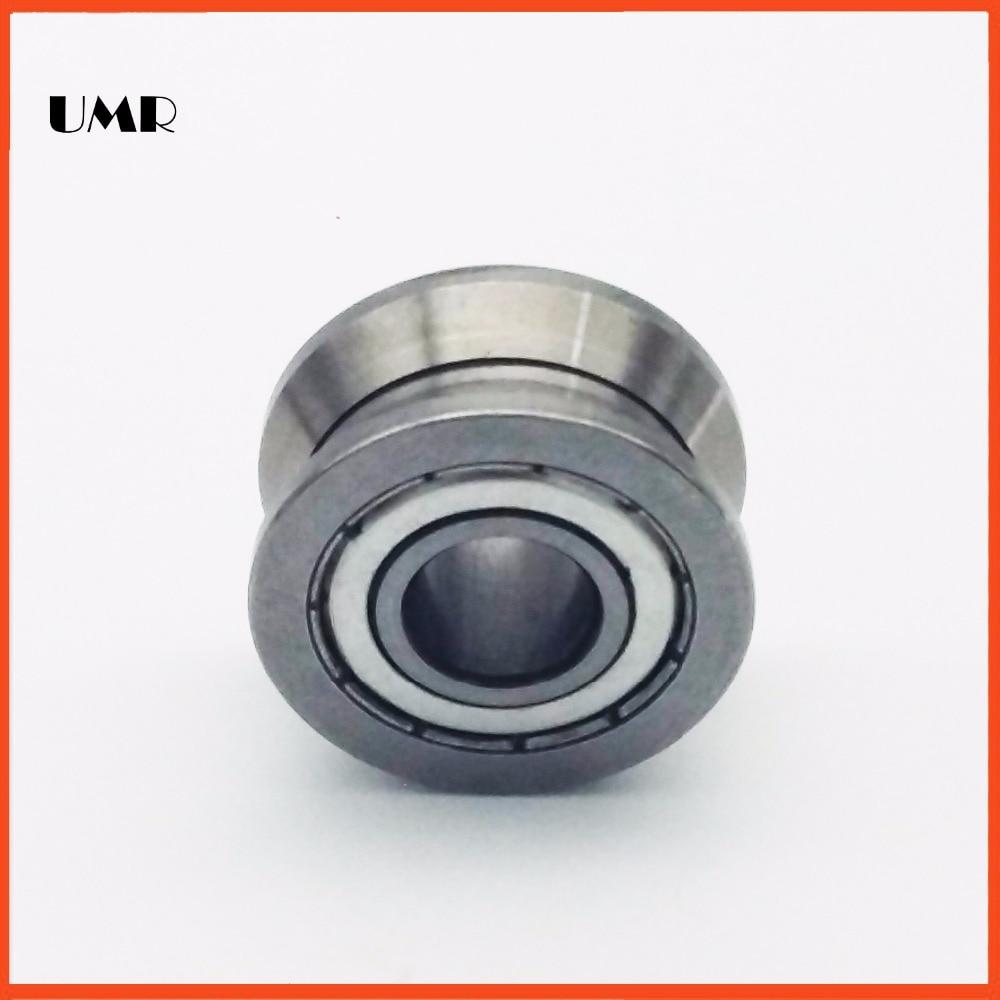 LV204-58ZZ V Groove Guide roller bearings LV204-58 ZZ LV-58 RV204/20.58-30 20*58*25 (Precision double row balls) ABEC-5 gcr15 6326 zz or 6326 2rs 130x280x58mm high precision deep groove ball bearings abec 1 p0