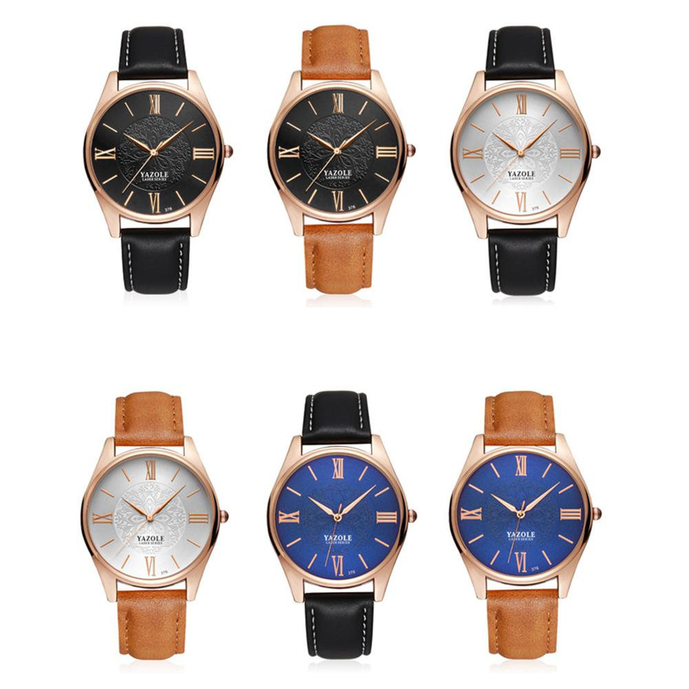 LinTimes Stylish Men Business Watch Casual Wristwatch Ornament Gift