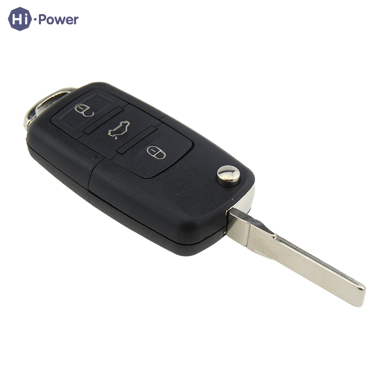 Hi power Remote Car Key Shell 3 Buttons Key Cover For Volkswagen VW Polo Passat B5