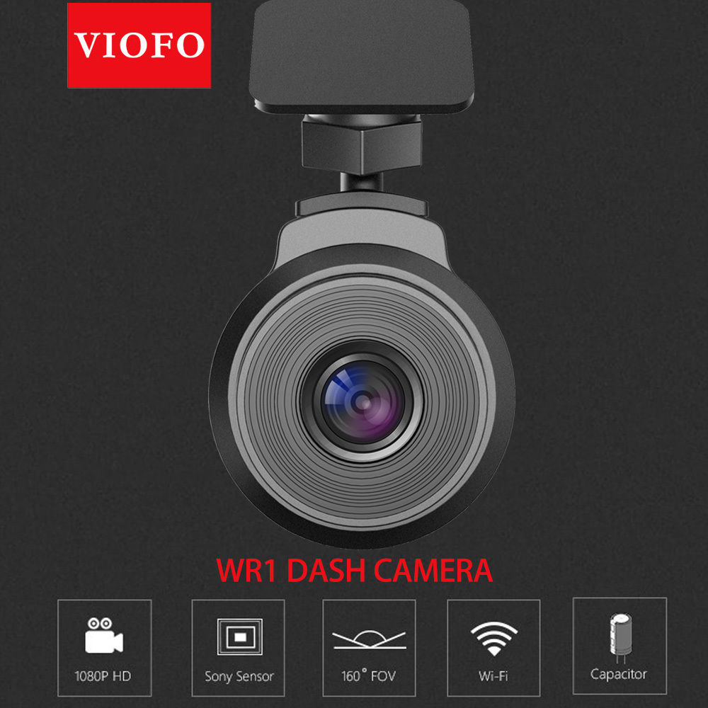 Mini VIOFO WR1 Super Capacitor IMX323 Sensor Wifi HD 1080P 30fps Car Dash Camera DVR Recorder Loop Recording With Novatek Chip bigbigroad for nissan qashqai car wifi dvr driving video recorder novatek 96655 car black box g sensor dash cam night vision