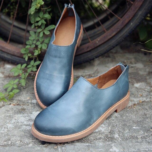 Barato de Para Mujer otoño Zapatos Casuales En Línea Azul de Barato Moda ec61ce